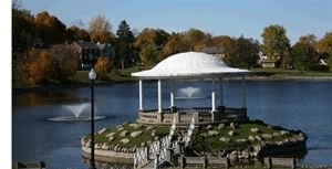 The Gazebo At Onondaga Park