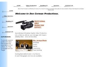 Don Corman Event DJ & Video Services