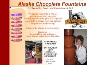 Alaska Chocolate Fountains