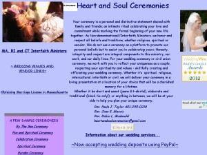 heartandsoulceremoniescom