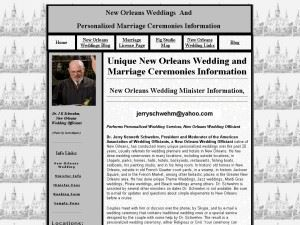 New Orleans Weddings and Marriage Official