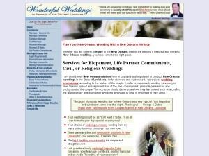 Wonderful Weddings in Romantic New Orleans
