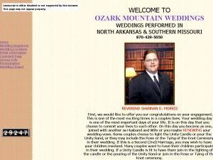 Ozark Mountain Weddings