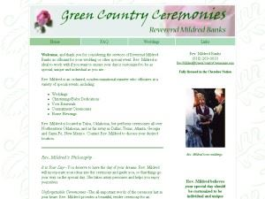 Green Country Ceremonies
