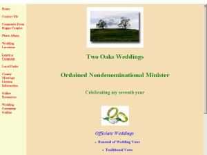 Two Oaks Weddings