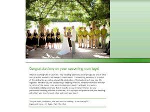 Utah Wedding Minister Anita Gordon