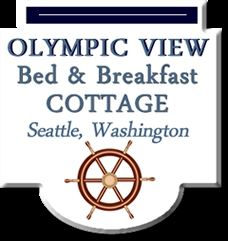 An Olympic View Bed and Breakfast Cottage