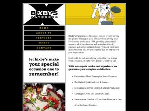 Bixby's Caterers