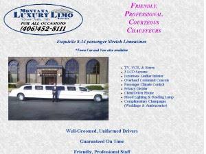 Montana Luxury Limo Service