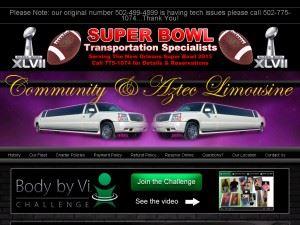 Community & Aztec Limousine Service