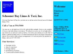 Schooner Bay Limo & Taxi