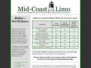 Mid-Coast Limo