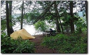 Mayne Island Eco Camping