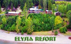 Elysia Resort on Quesnel Lake