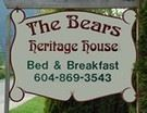 The Bears Heritage House Bed & Breakfast