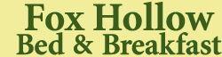 Fox Hollow Bed & Breakfast