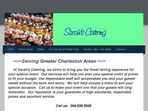 Sarah's catering