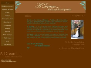 A Dream Wedding & Event Specialist