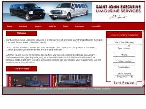 Saint John Executive Limousine Services