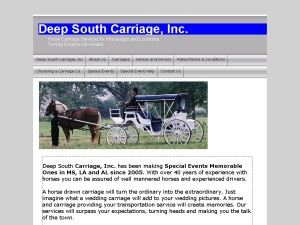 Deep South Carriage, Inc.