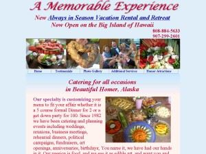 A Memorable Experience Cottage & Catering