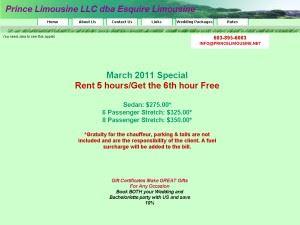 Prince Limousine LLC dba Esquire Limousine