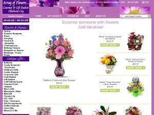 Array Of Flowers & Gifts
