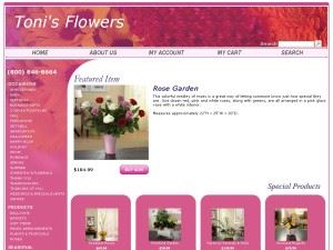 Toni's Flowers