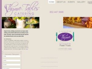 Thyme Tables Caterer