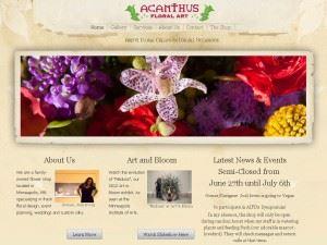 Acanthus Floral Art