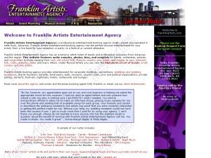 Franklin Artists Entertainment Agency