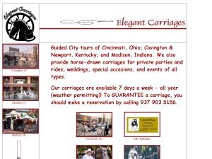 Elegant Carriages