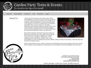 Garden Party Tents & Events