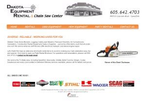 Dakota Equipment Rental & Chain Saw Center