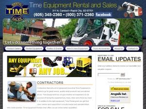 Time Equipment Rental & Sales, Inc.