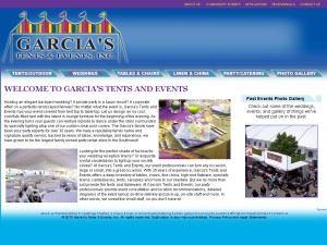 Garcia's Tents & Events Inc