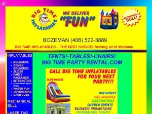 Big Time Inflatables