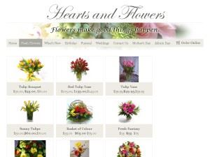 Hearts And Flowers Florist