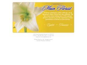 Montreal's Main Florist
