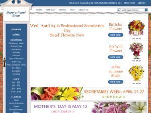 Mann's Floral Shop