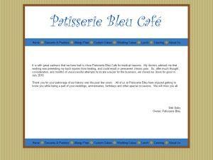 Patisserie Bleu Café
