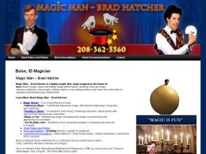 Magic Man Brad Hatcher