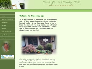 Cindy Annand's Hideaway Spa