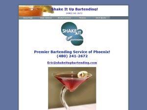 Shake It Up Bartending