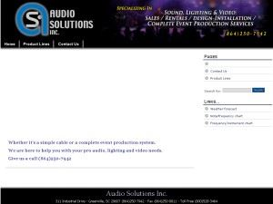 Audio Solutions Inc.