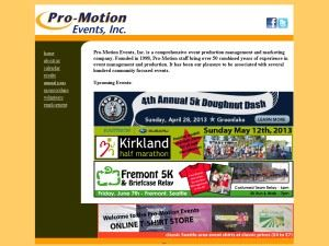 Pro Motion Events Incorporated