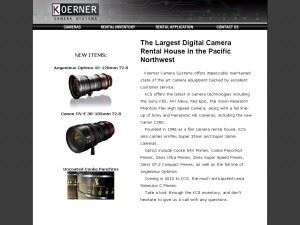 Koerner Camera Systems, Inc.