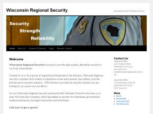 Wisconsin Regional Security