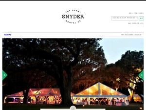 Snyder Event Rentals and Staffing