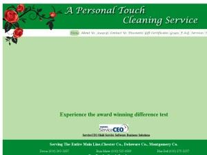 A Personal Touch Cleaning Service